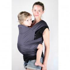 Porte-bébé Maxi-Tai Prune de Ling Ling d'Amour