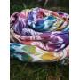 Ring Sling Yaro La Fleur Trinity Caribbean Rainbow Cupro Tencel Linen