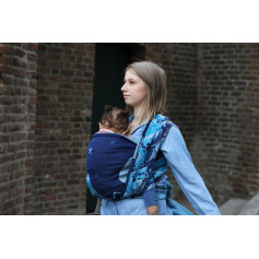 Ring Sling Yaro Everest Trio Silver Blue Tencel
