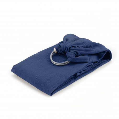 Sling Neo'Sling Bleu Fregate Coton bio de Neobulle