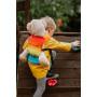 Porte-poupon Lennylamb Rainbow Baby