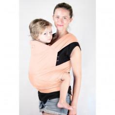 Porte-bébé Maxi-Tai Abricot de Ling Ling d'Amour