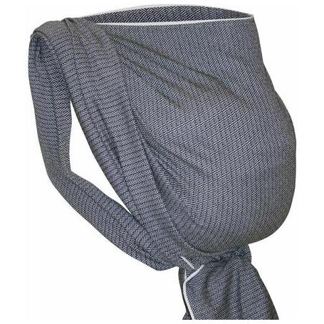 echarpe de portage Storchenwiege noir et blanc