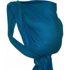 Echarpe de portage Leo Turquoise Storchenwiege
