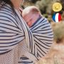 Echarpe de portage Malo Coton bio de Neobulle - Collection Deauville