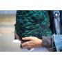 Echarpe de portage Yaro La Vita Emerald-Black