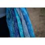 Echarpe de portage Yaro Four Winds Aqua Grad Natural Hemp