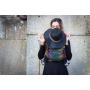 Echarpe de portage Yaro Dandy Black Autumn Rainbow