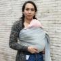 Echarpe de portage Yaro Newborn Grey
