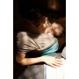 Echarpe de portage Love Radius JPMBB Gris Clair Turquoise