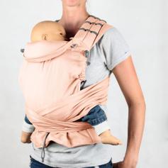 Porte-bébé Mehdai Mid-Tai+ Abricot de Ling Ling d'Amour