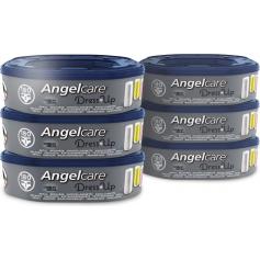 Lot de 6 recharges octogonale pour poubelle à couches Dress Up Angelcare
