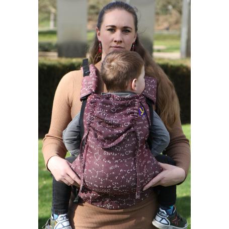 Porte-bébé évolutif Yaro Hug Chemic Chianti