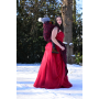 Ring Sling Yaro Roses Duo Red Black Glam