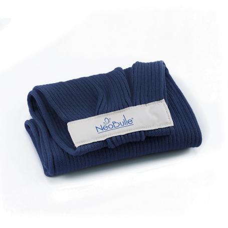 Porte-bébé d'appoint Hop'La Bleu Marine de Neobulle