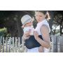 Porte-bébé tube Easy Sling Wacotto Bleu Marine