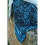 Ring Sling Yaro Ava Contra Black-Blue Glam