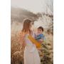 Porte-bébé d'appoint Hop'La Jaune Ocre de Neobulle