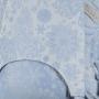 Porte-bébé à nouer Fly Tai Iced Butterfly Bleu Clair Toddler