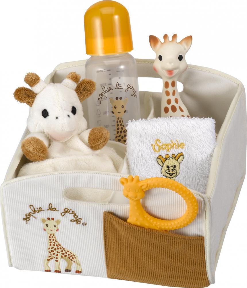 corbeille de naissance sophie la girafe definitive vulli. Black Bedroom Furniture Sets. Home Design Ideas