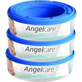 Lot de 3 recharges pour poubelle Angelcare