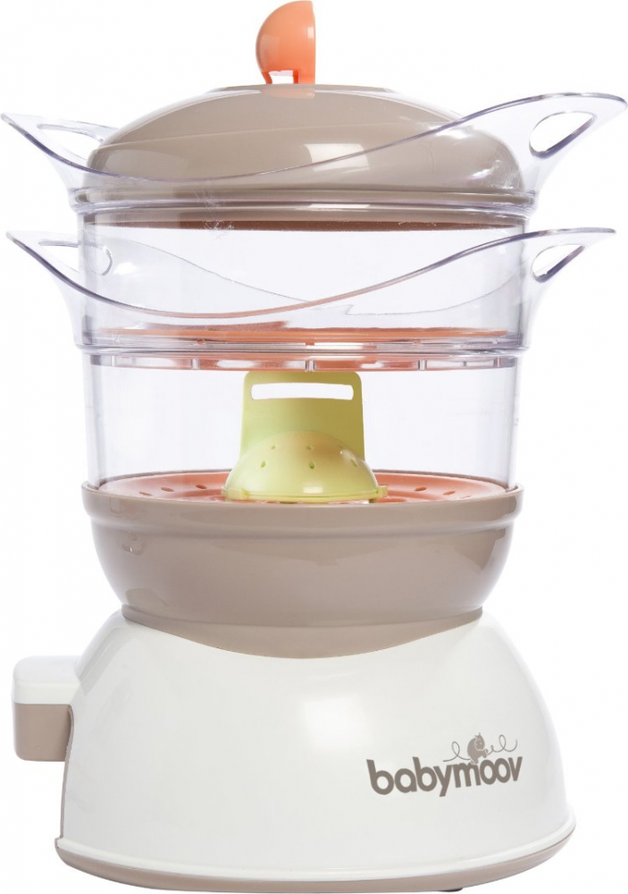 Babymoov Cuiseur /& Mixeur Nutribaby Abricot//Taupe