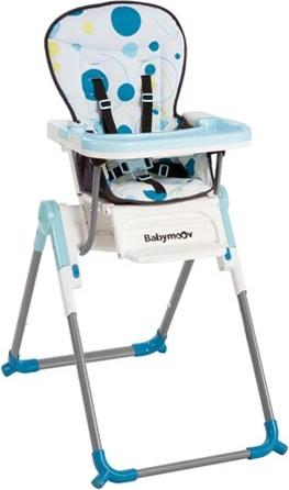 chaise haute slim turquoise definitive babymoov a010004 b b luga. Black Bedroom Furniture Sets. Home Design Ideas