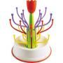 Egoutte biberons en forme de Tulipe