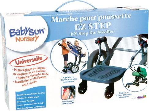 marche pour poussette ez step definitive babysun nursery. Black Bedroom Furniture Sets. Home Design Ideas