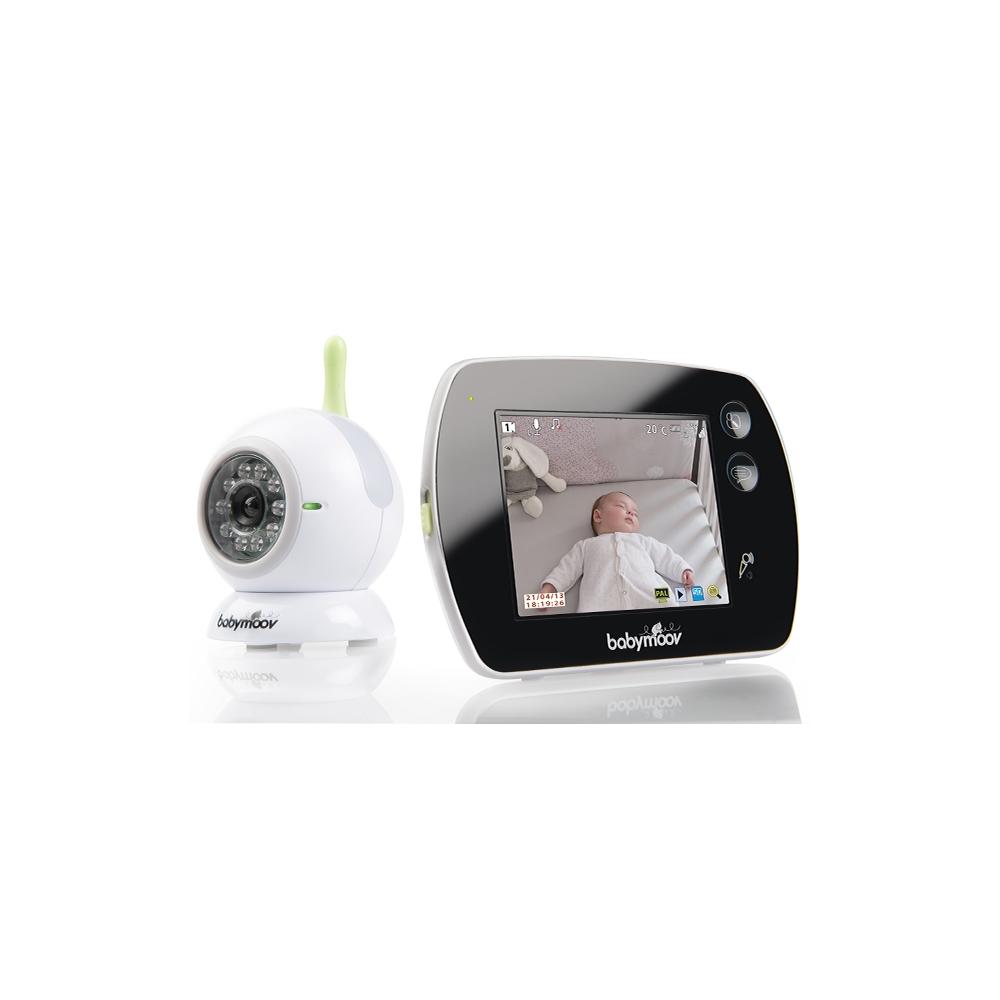 ecoute b b vid o touch screen de babymoov definitive. Black Bedroom Furniture Sets. Home Design Ideas