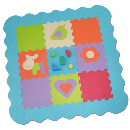 Tapis Enfant Educatif En Mousse De Ludi Definitive Ludi 1001