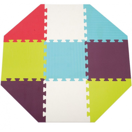 tapis enfant en mousse pour fond de parc octogonal de ludi definitive ludi 1016 b b luga. Black Bedroom Furniture Sets. Home Design Ideas