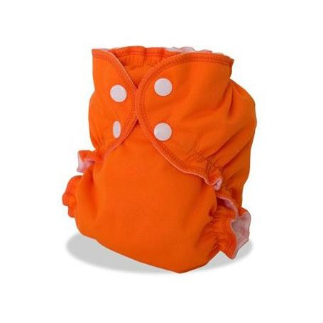 Couvre-couche lavable Applecheeks Orange Moi Ca