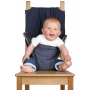 Chaise nomade Totseat Silver bound Denim