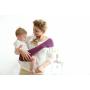 Porte-bébé sling asymétrique Suppori Mauve