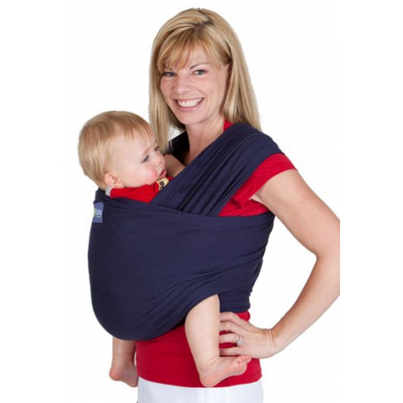 Écharpe de portage Boba Wrap Bleu Marine - Écharpe tricotée ... 6110e13982f