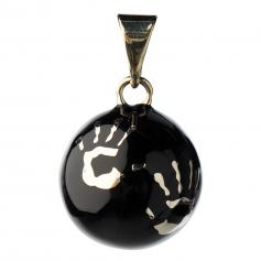 Bola de grossesse Petites Mains Noir VK480