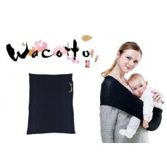 Porte-bébé tube Wacotto Noir