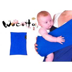 Porte-bébé tube Wacotto Bleu Electrique