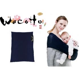 Porte-bébé tube Wacotto Bleu Marine