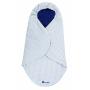 Couverture nomade Jersey Bleu marine et Etoiles Candide