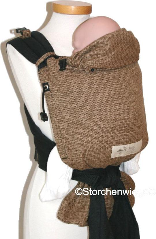 fedcddecfc4 Porte-bébé Babycarrier Storchenwiege - Porte-bébé asiatique Mei-Tai ...