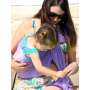 Porte-bébé sling Sukkiri Parme