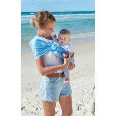 Porte-bébé sling Sukkiri Bleu Ciel