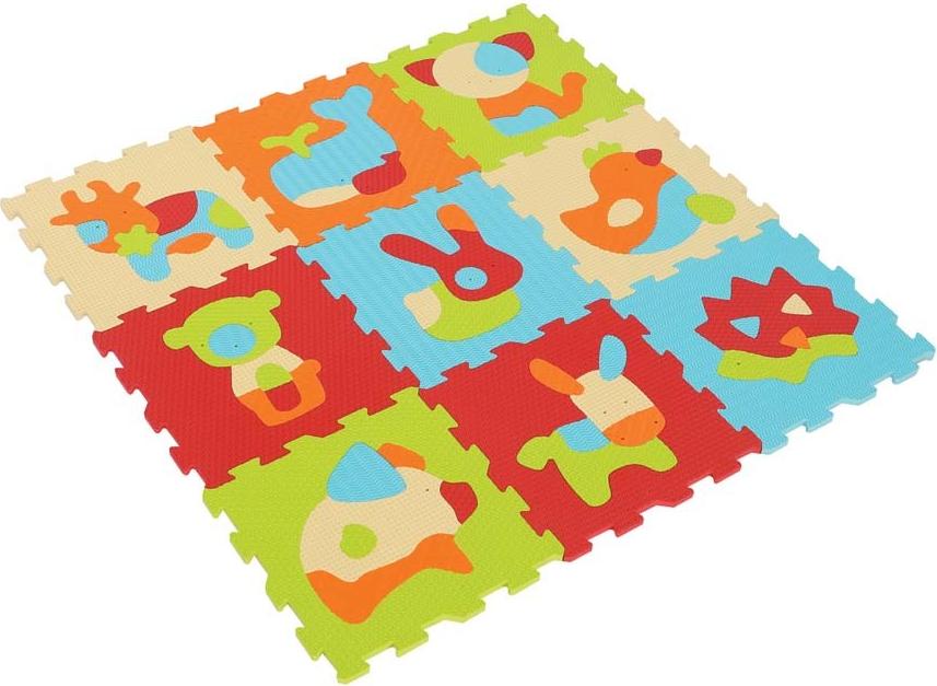 tapis enfant en mousse dalles motif animaux de ludi definitive ludi 1010 b b luga. Black Bedroom Furniture Sets. Home Design Ideas
