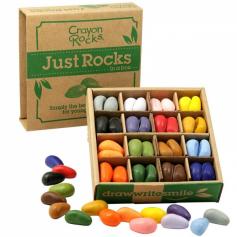 Coffret de 64 Crayon Rocks - 32 couleurs