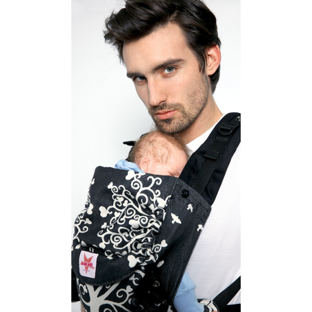 Porte-bébé préformé Kokadi Flip Mr Wunderland