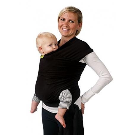 Écharpe de portage Boba Wrap Noire - Écharpe tricotée (extensible ... d704deeedbf
