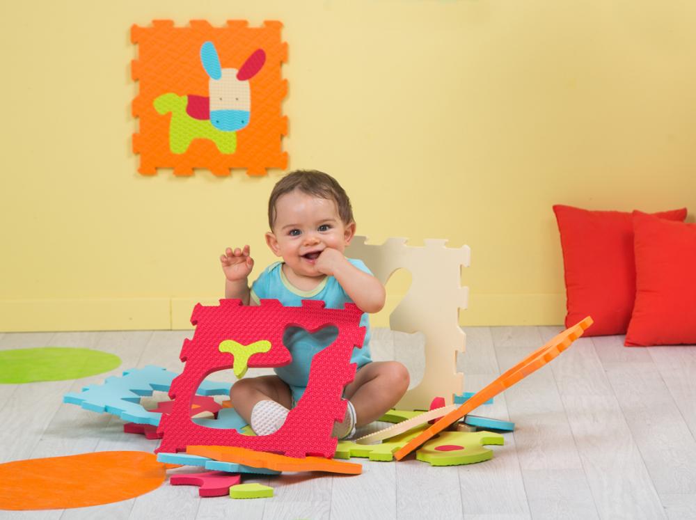tapis enfant en mousse motif animaux de ludi definitive ludi 1005 b b luga. Black Bedroom Furniture Sets. Home Design Ideas