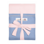 Écharpe de portage JPMBB Originale Rose Ballerina poche Bleu Galet